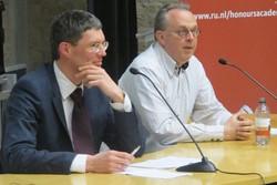 Klaas Landsman (links) en Peter Hagoort
