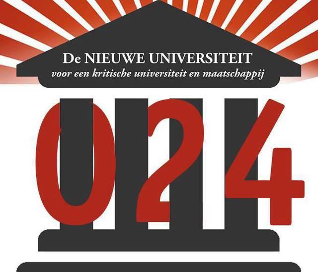 Beeldmerk van De Nieuwe Universiteit Nijmegen
