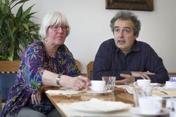Trudie Rigter en Peter Desain / Foto: Joeri Borst