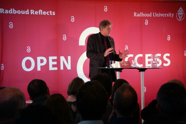 Gerard Meijer at Open Access lecture