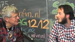 Gert Hekma (links) en Juul Gooren. Foto: Carmen Quint
