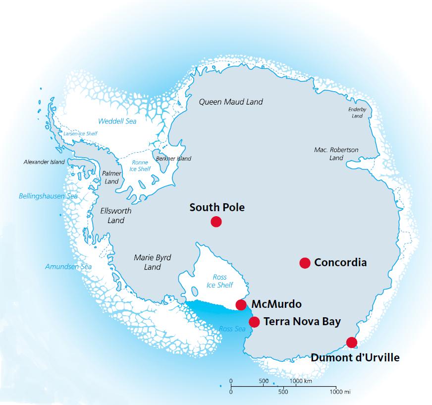 kaart antarctica
