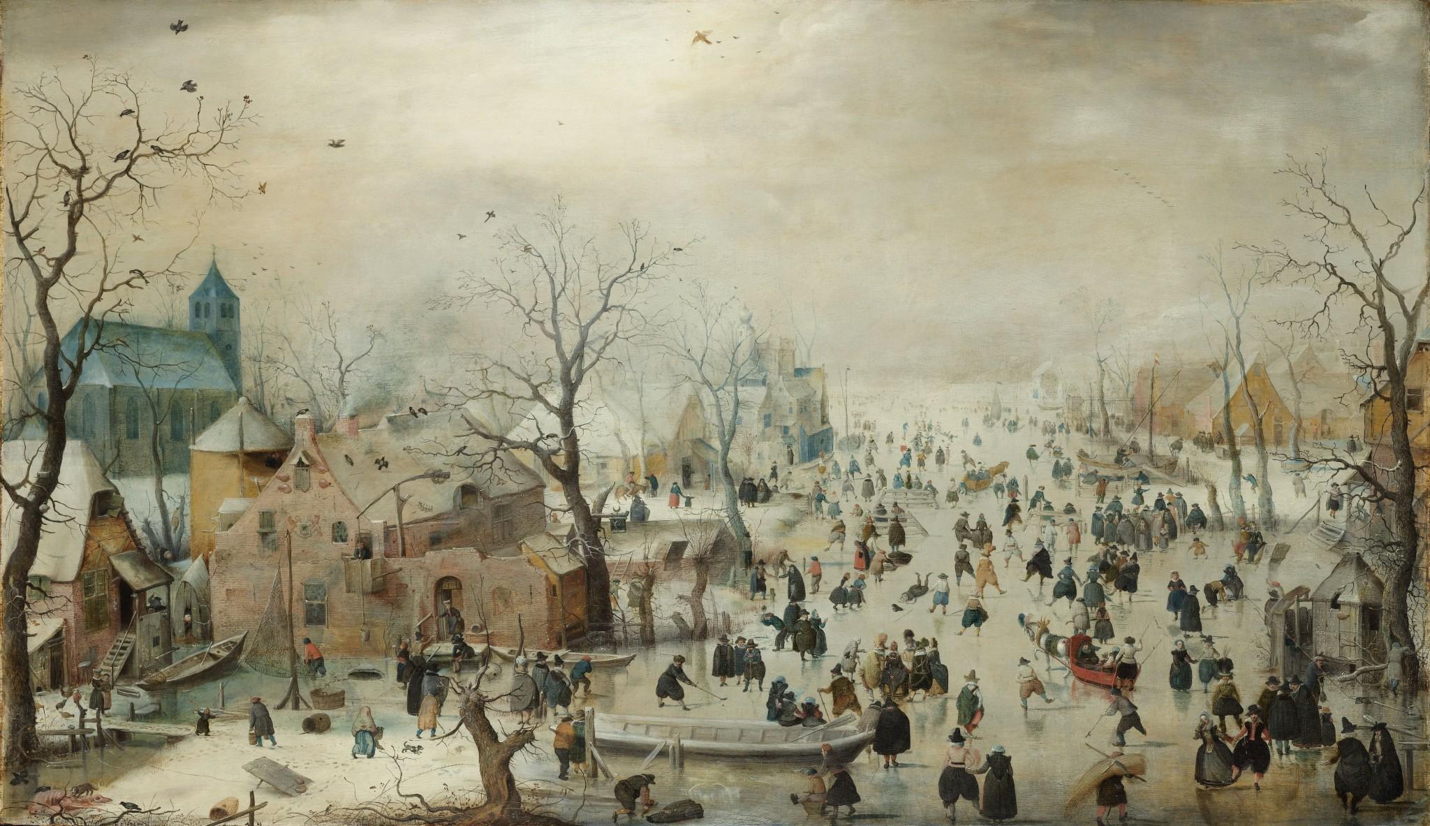 wintertafereel Avercamp
