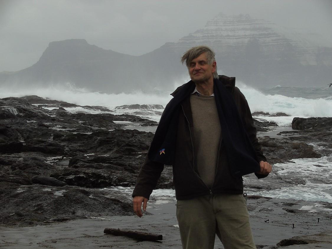 Ron Wevers op de Faeröer. Eigen foto